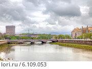 Сан-Себастьян. Река Урумеа (2014 год). Стоковое фото, фотограф Parmenov Pavel / Фотобанк Лори