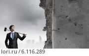 Купить «Overcoming challenges», фото № 6116289, снято 25 мая 2019 г. (c) Sergey Nivens / Фотобанк Лори
