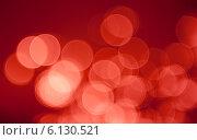 Алый абстрактный фон, эффект боке. Стоковое фото, фотограф E. O. / Фотобанк Лори