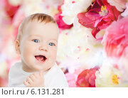 Купить «smiling little baby», фото № 6131281, снято 22 мая 2014 г. (c) Syda Productions / Фотобанк Лори
