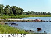 Сельский пейзаж. Стоковое фото, фотограф Анатолий Уткин / Фотобанк Лори