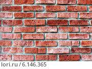 Текстура кладки стены из красного кирпича. Стоковое фото, фотограф Елена Ларина / Фотобанк Лори