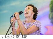 Купить «Юлия Чичерина», эксклюзивное фото № 6151129, снято 11 июля 2014 г. (c) Михаил Ворожцов / Фотобанк Лори