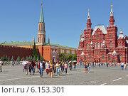 Туристическая Москва. Красная площадь (2014 год). Редакционное фото, фотограф Валерия Попова / Фотобанк Лори