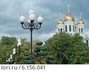 Купить «Золотые купола», эксклюзивное фото № 6156041, снято 13 июля 2014 г. (c) Svet / Фотобанк Лори