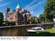Купить «Собор Святого Баво в Харлеме, Нидерланды», фото № 6157757, снято 3 сентября 2013 г. (c) Евгений Прокофьев / Фотобанк Лори