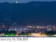Ночной пейзаж, Геленджик (2014 год). Стоковое фото, фотограф алексей малов / Фотобанк Лори