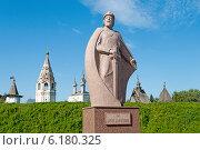 Купить «Памятник Юрию Долгорукому, основателю города Юрьев-Польский», фото № 6180325, снято 16 июля 2014 г. (c) Виктор Сагайдашин / Фотобанк Лори