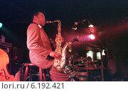 Купить «Concert of jazz saxophonist Archie Shepp in Berlin, Germany», фото № 6192421, снято 20 октября 1997 г. (c) Caro Photoagency / Фотобанк Лори