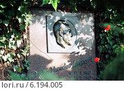 Berlin, urn grave of Theodor Leipart unionist (1998 год). Редакционное фото, агентство Caro Photoagency / Фотобанк Лори