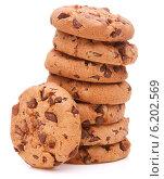 Купить «Chocolate homemade pastry cookies», фото № 6202569, снято 13 июня 2013 г. (c) Natalja Stotika / Фотобанк Лори