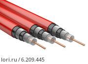 Купить «Электрический кабель», иллюстрация № 6209445 (c) Маринченко Александр / Фотобанк Лори