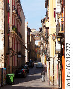 Купить «street in Logrono. La Rioja», фото № 6212777, снято 28 июня 2014 г. (c) Яков Филимонов / Фотобанк Лори