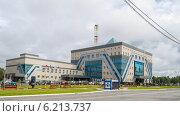 """Купить «Центральный офис """"Газпром добыча Ноябрьск""""», фото № 6213737, снято 28 июля 2014 г. (c) Мария Козаченко / Фотобанк Лори"""