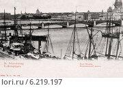 Купить «Николаевский мост в Санкт-Петербурге. Россия», фото № 6219197, снято 27 мая 2019 г. (c) Юрий Кобзев / Фотобанк Лори