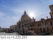 Купить «Церковь Санта-Мария-делла-Салюте 1681 года постройки. Венеция. Италия», фото № 6220293, снято 4 ноября 2013 г. (c) Евгений Ткачёв / Фотобанк Лори