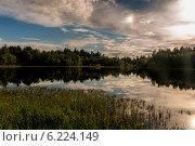 Купить «Озеро», фото № 6224149, снято 5 июля 2014 г. (c) Евгений / Фотобанк Лори