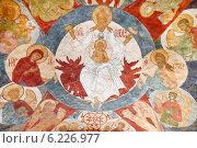 Купить «Фрески над входом в Толгский монастырь», фото № 6226977, снято 19 июля 2014 г. (c) Наталья Волкова / Фотобанк Лори