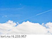 Небесные трассы. Стоковое фото, фотограф Юлия Елисеева / Фотобанк Лори