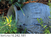 Кувшин в саду. Стоковое фото, фотограф Мичурина Ирина / Фотобанк Лори