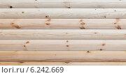 Купить «Сосновый профилированный брус», фото № 6242669, снято 3 августа 2014 г. (c) Родион Власов / Фотобанк Лори