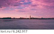 Купить «Петропавловский собор, таймлапс, Санкт-Петербург», видеоролик № 6242917, снято 24 июля 2014 г. (c) Виктор Тихонов / Фотобанк Лори