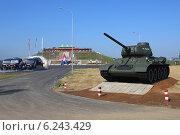 Купить «Т-34 на танковом полигоне. Алабино», эксклюзивное фото № 6243429, снято 6 августа 2014 г. (c) Алексей Гусев / Фотобанк Лори