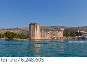Купить «Венецианский замок Камерленго (1437 г.) в г. Трогир, Хорватия. Объект всемирного наследия ЮНЕСКО», фото № 6248605, снято 19 июля 2014 г. (c) Иван Марчук / Фотобанк Лори