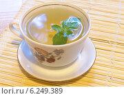 Чай с мятой. Стоковое фото, фотограф Зацепина Галина / Фотобанк Лори