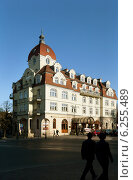 Sopot, Poland, the 5-star establishment Hotel Rezydent downtown (2009 год). Редакционное фото, агентство Caro Photoagency / Фотобанк Лори