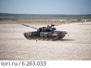 Танковый биатлон, Алабино, 2014. Редакционное фото, фотограф Андрей Павлов / Фотобанк Лори