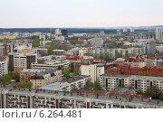 Екатеринбург. Вид сверху (2012 год). Редакционное фото, фотограф BoLinar / Фотобанк Лори