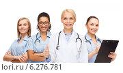 Купить «team or group of doctors and nurses», фото № 6276781, снято 1 декабря 2013 г. (c) Syda Productions / Фотобанк Лори