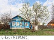 Деревянный дом (2014 год). Стоковое фото, фотограф Тарасова Татьяна / Фотобанк Лори