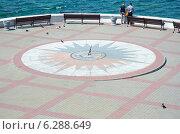 Купить «Солнечные часы. Севастополь», фото № 6288649, снято 1 августа 2014 г. (c) Ирина Балина / Фотобанк Лори