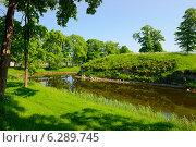 В парке возле замка, г.Курасааре, остров Сааремаа, Эстония. Стоковое фото, фотограф Евгений Малахов / Фотобанк Лори