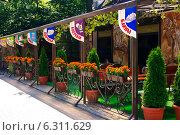 Кафе в Светлогорске (Калининградской области) (2014 год). Редакционное фото, фотограф Анастасия Козлова / Фотобанк Лори