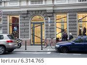 Bartek Janusz heirdressing salon on Mokotowska street in Warsaw. Редакционное фото, агентство BE&W Photo / Фотобанк Лори