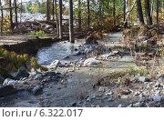 Купить «Сход селевого потока с гор», фото № 6322017, снято 23 августа 2014 г. (c) Виктория Катьянова / Фотобанк Лори