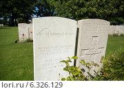 Poperinge, Belgium, grave of an Indian Sikh in the military cemetery Lijssenthoek (2013 год). Редакционное фото, агентство Caro Photoagency / Фотобанк Лори