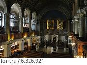 Купить «Интерьер хоральной синагоги в Большом Спасоглинищевском переулке в Москве», эксклюзивное фото № 6326921, снято 24 августа 2014 г. (c) lana1501 / Фотобанк Лори