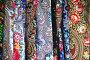 Павлово-Посадские платки, эксклюзивное фото № 6327281, снято 22 августа 2014 г. (c) lana1501 / Фотобанк Лори