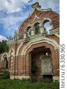 Старинная церковь, развалины. Стоковое фото, фотограф Наталья Степченкова / Фотобанк Лори