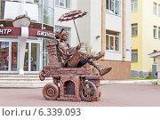 Купить «Емеля на печи. Наро-Фоминск», эксклюзивное фото № 6339093, снято 29 августа 2014 г. (c) Юрий Шурчков / Фотобанк Лори