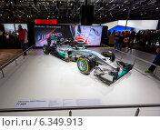 Mercedes-Benz AMG Petronas F1 W05. ММАС 2014. Редакционное фото, фотограф Сергей Лаврентьев / Фотобанк Лори