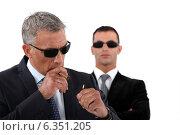 Купить «Wealthy businessman smoking cigar», фото № 6351205, снято 2 мая 2011 г. (c) Phovoir Images / Фотобанк Лори