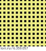 Купить «Клетчатый фон из жёлтых полос», иллюстрация № 6359057 (c) Valerii Stoika / Фотобанк Лори