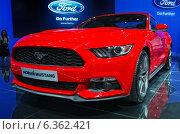 Купить «Ford Mustang, ММАС 2014», фото № 6362421, снято 30 августа 2014 г. (c) Алексей Голованов / Фотобанк Лори