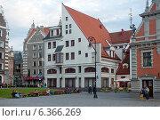 Купить «Рига. Архитектура Старого города», эксклюзивное фото № 6366269, снято 29 августа 2014 г. (c) Svet / Фотобанк Лори
