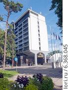 Купить «Отель. Юрмала», эксклюзивное фото № 6368045, снято 30 августа 2014 г. (c) Svet / Фотобанк Лори